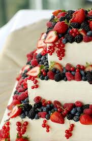 wedding cake recipes berry lemon layer cake with summer berries recipe berry cake and