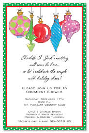 ornament glitz invitations invitations 13179