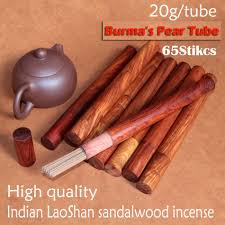 65sticks high quality nature incienso mysore of indian sandalwood