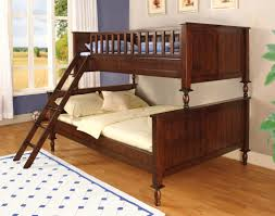 Hokku Designs Milton Twin Over Full Futon Bunk Bed  Reviews Wayfair - Wood bunk bed with futon