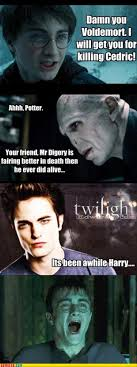 Funny Twilight Memes - funny harry potter twilight dump a day