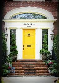 Entry Door Designs Yellow Front Door 30 Inspiring Front Door Designs Hinting Towards