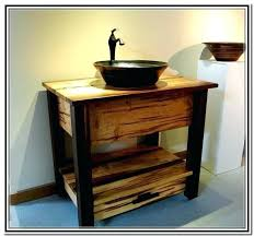 Bathroom Vanities With Bowl Sink Vanity With Vessel Sink Home Ideas