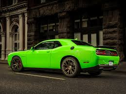Dodge Challenger Yellow - 2016 dodge challenger and charger srt hellcat get hefty price