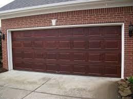 garage door paint faux wood garage doors image gel stain door