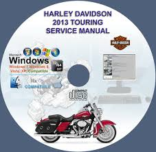harley davidson touring service manual cd 2013 www