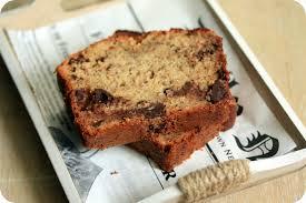 requia cuisine banana bread ou cake banane chocolat chez requia cuisine et