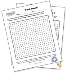 make your own search a word puzzles with sight words vocab words