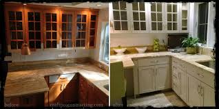 Before And After Kitchen Cabinet Painting Before And After Painted Kitchens