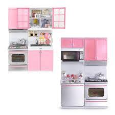 modern kids kitchen mini children u0027s modern kitchen pretend playing cooking set cabinet