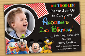 mickey mouse clubhouse birthday invites mickey mouse birthday invitation mickey mouse clubhouse birthday