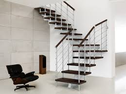 Wood Interior Handrails Decorations Modern Indoor Stair Railing Kits Systems For Your