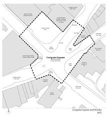 Portland Me Zip Code Map by Congress Square Redesign Portland Me
