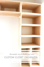 build closet shelving ideas home design also your own systems