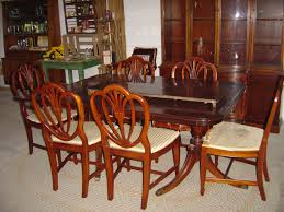 cherry dining room set enchanting drexel heritage dining table heirloom style maison by