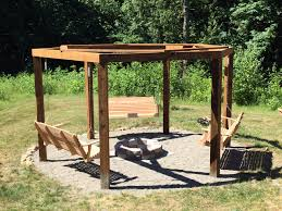 the fire pit we built a fire pit gazebo swingset album on imgur