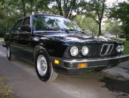 curbside classic 1984 bmw 528e u2013 the low rev modest driving machine