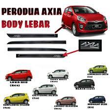 mitsubishi attrage bodykit perodua axia body lebar max automart gombak