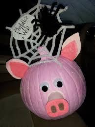 Charlotte U0027s Web Project Pumpkin Pink Paint Glitter Pipe