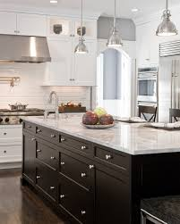 Stainless Steel Pendant Light Kitchen Small Traditional Kitchen With Undercounter Lighting And Stainless