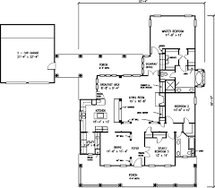 farmhouse floor plan open plan farmhouse 1922gt architectural designs house plans