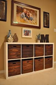 diy storage and wooden crates i am in love with this i wonder