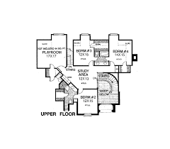 Tudor Floor Plan House Plan 98539 At Familyhomeplans Com
