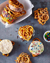 funnel cake ice cream sandwiches recipe myrecipes
