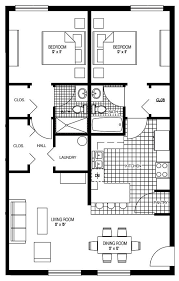 Two Bed Two Bath Floor Plans 14 Best Floor Plans Images On Pinterest Ranch House Plans