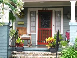 front porch nice front door design using white and grey painted