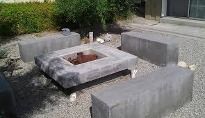 Concrete Firepit Concrete Pit Ideas Concrete Pit Molds Outdoor