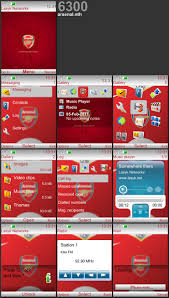 udjo42 themes for nokia c3 arsenal theme for nokia 6300 240 320 nokia c3 theme