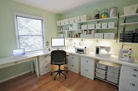 white l shaped desk with hutch freedom to