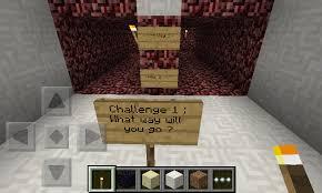 Challenge Minecraft Sky Challenge Minecraft Pe Parkour Map D Mcpe