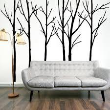 superb vinyl wall art tree branch birds extra large black tree