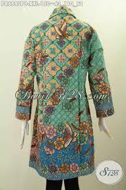 desain baju batik halus desain baju batik wanita kerja ukuran 3l dress batik halus kerah