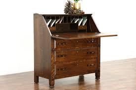 Antique Desk Secretary by Sold Arts U0026 Crafts Mission Oak Quarter Sawn 1905 Antique