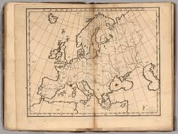 f untitled outline map of europe david rumsey historical map