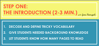 6 steps in guided reading