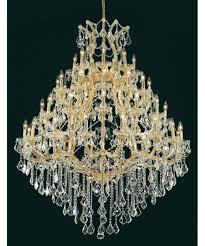 Maria Theresa Chandelier Elegant Lighting 2800g46 Maria Theresa 46 Inch Wide 49 Light