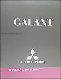 2009 mitsubishi galant wiring diagram manual original