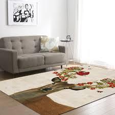 salon chambre a coucher zeegle elk imprimé non slip doux enfants chambre jouer tapis salon
