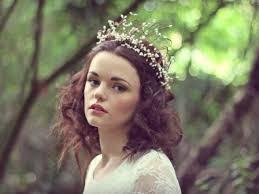 hair wreath white rustic hair wreath woodland wreath wedding hairband