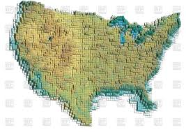 united states map vector abstract united states map royalty free vector clip image