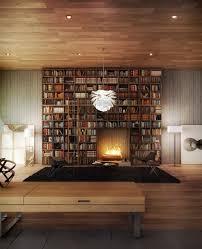 bibliothek wohnzimmer die besten 25 moderne bibliothek ideen auf