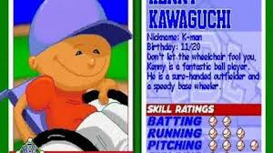 Backyard Baseball 10 Kenny Kawaguchi Backyard Sports Wiki Fandom Powered By Wikia