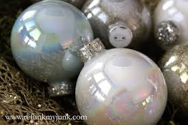 homemade christmas ornaments cece caldwell style refunk my junk