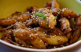 grenouille cuisine cuisses de grenouilles à l aigre douce recette dukan pp par spicy