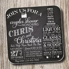 stock the bar invitations coasters invitations envelopes bridal shower couples shower
