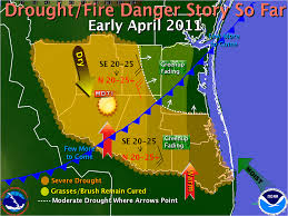 Texas Wildfire Danger Map by Rio Grande Valley Deep South Texas Spring Weather Potential For